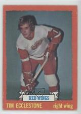 1973-74 Topps #124 Tim Ecclestone Detroit Red Wings Hockey Card