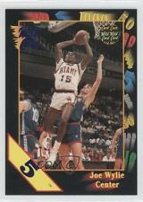 1992 Wild Card Collegiate 5 Stripe 10 Joe Wylie Miami (FL) Hurricanes Basketball
