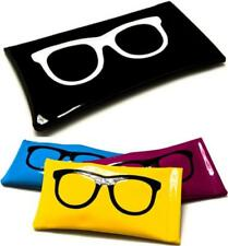 NEW SUNGLASSES POUCH CASE MENS LADIES WOMENS BLACK SPECTICLES READING GLASSES