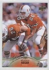 2015 Upper Deck #37 Bernie Kosar Miami Hurricanes Football Card
