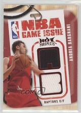 2008-09 Fleer Hot Prospects NBA Game Issue Materials Red #NBA-BA Andrea Bargnani