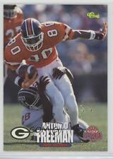1995 Classic NFL Draft 71 Antonio Freeman Green Bay Packers Rookie Football Card