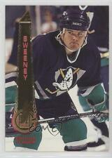 1994-95 Pinnacle #93 Tim Sweeney Anaheim Ducks (Mighty of Anaheim) Hockey Card