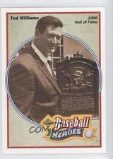 1992 Upper Deck Baseball Heroes #35 Ted Williams Boston Red Sox Card