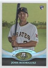 2011 Bowman Platinum Gold #2 Josh Rodriguez Pittsburgh Pirates Baseball Card
