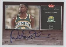 2005 Fleer Greats of the Game Autographed #GG-DE Dale Ellis Auto Basketball Card