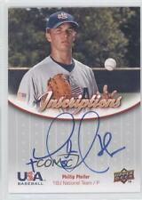 2009 Upper Deck USA Baseball #IN18U-PP Phillip Pfeifer Team (National Team) Auto