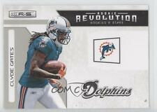 2011 Panini Rookies & Stars Rookie Revolution 36 Clyde Gates Miami Dolphins Card
