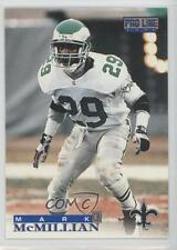 1996 Pro Line #275 Mark McMillian Philadelphia Eagles Football Card
