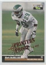 1995 Classic Pro Line Printers Proof 268 Mark McMillian Philadelphia Eagles Card