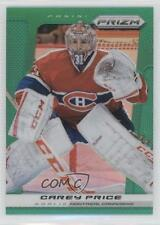 2013-14 Panini Prizm Green #41 Carey Price Montreal Canadiens Hockey Card