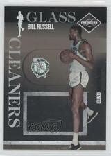 2010-11 Limited Glass Cleaners #18 Bill Russell Boston Celtics Basketball Card