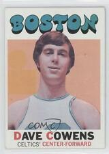 1971-72 Topps #47 Dave Cowens Boston Celtics RC Rookie Basketball Card