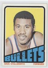1972-73 Topps #132 Dave Stallworth Washington Bullets Basketball Card