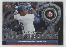 2007 Fleer Ultra Hitting Machine HM-AR Aramis Ramirez Chicago Cubs Baseball Card
