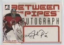 2006 In the Game Between Pipes Autographs #A-JPA Jordan Parise Auto Hockey Card