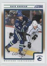 2012-13 Score Gold Rush #455 Zack Kassian Vancouver Canucks Hockey Card