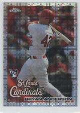 2010 Topps Chrome X-Fractor 172 Bryan Anderson St. Louis Cardinals Baseball Card