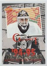 1994 Score The Franchise #TF1 Guy Hebert Anaheim Ducks (Mighty of Anaheim) Card