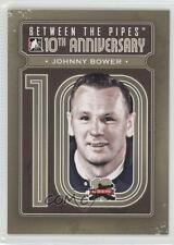 2011 In the Game Between Pipes 10th Anniversary BTPA-40 Johnny Bower Hockey Card
