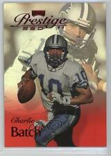 1999 Playoff Prestige SSD Spectrum Red #B043 Charlie Batch Detroit Lions Card