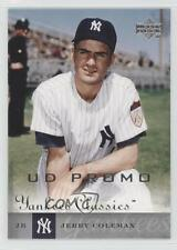 2004 Upper Deck Yankees Classics UD Promo #63 Jerry Coleman New York Card