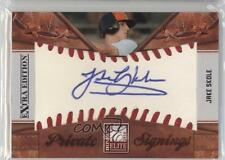 2010 Donruss Elite Extra Edition Private Signings 12 Jake Skole Auto Rookie Card