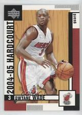 2004-05 Upper Deck Hardcourt #43 Dwyane Wade Miami Heat Basketball Card
