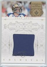 2011 Playoff National Treasures Colossal Materials Prime #54 Drew Brees Card