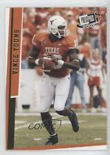 2006 Press Pass SE Gold #G40 Vince Young Texas Longhorns Rookie Football Card