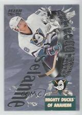 1996-97 Fleer Art Ross Trophy Winners #21 Teemu Selanne Hockey Card