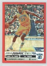 2005-06 Topps Big Game Red #16 Jamaal Magloire New Orleans Hornets Pelicans Card