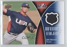 2009 Upper Deck USA 18U National Team Jersey 18U-JB Jake Barrett (National Team)