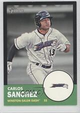 2012 Topps Heritage Minor League Edition Black Border #98 Carlos Sanchez Card