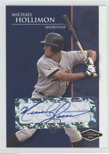 2006 Just Minors Justifiable Autographs Autographed #JF-15 Mike Hollimon Auto