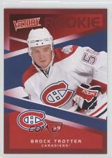 2010-11 Upper Deck Victory Red #229 Brock Trotter Montreal Canadiens Hockey Card