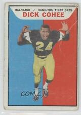 1965 Topps CFL #47 Dick Cohee Hamilton Tiger-Cats (CFL) Rookie Football Card