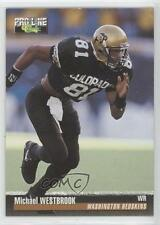 1995 Classic Pro Line #98 Michael Westbrook Colorado Buffaloes Football Card