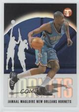 2003-04 Topps Pristine Refractor 61 Jamaal Magloire New Orleans Hornets Pelicans