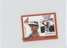 1988 Grenada Major League Baseball in Stamps US Series 1 #JUFR Julio Franco Card