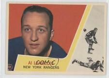 1963-64 Topps #49 Albert Langlois New York Rangers Hockey Card