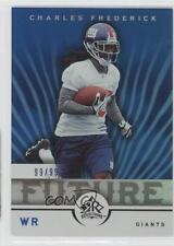 2005 Upper Deck Reflections Blue #187 Charles Frederick New York Giants Card