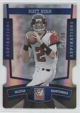 2010 Donruss Elite Aspirations Die-Cut 4 Matt Ryan Atlanta Falcons Football Card