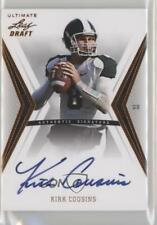 2012 Ultimate Leaf Draft #KC1 Kirk Cousins Michigan State Spartans Auto Card