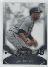 2010 Bowman Sterling #8 Austin Jackson Detroit Tigers RC Rookie Baseball Card