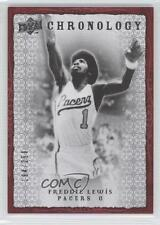 2007-08 Upper Deck Chronology #33 Freddie Lewis Indiana Pacers Basketball Card