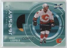 2002 In the Game Be A Player Signature Series #SGJ-59 Jordan Leopold Hockey Card