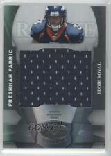 2008 Leaf Certified Materials #227 Freshman Fabric Eddie Royal Denver Broncos RC