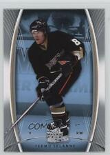 2007 Upper Deck Trilogy #4 Teemu Selanne Anaheim Ducks (Mighty of Anaheim) Card