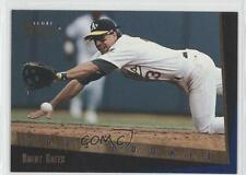 1993 Score Select Rookie & Traded #61T Brent Gates Oakland Athletics Card